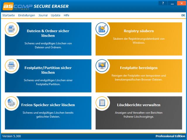 Deal des Tages: Secure Eraser Professional zum halben Preis