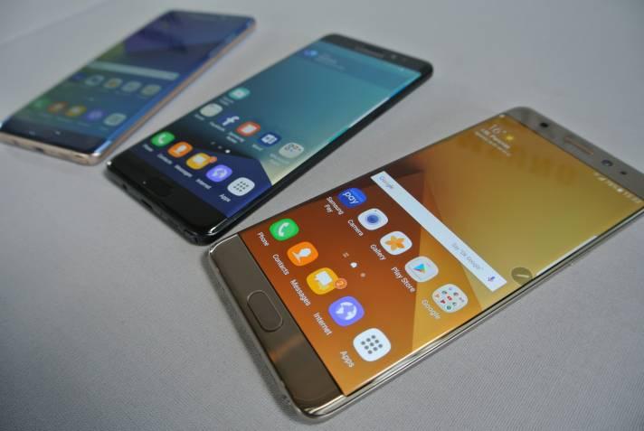 Samsung Galaxy Note 7: wasserdichtes Phablet mit Iris-Scanner