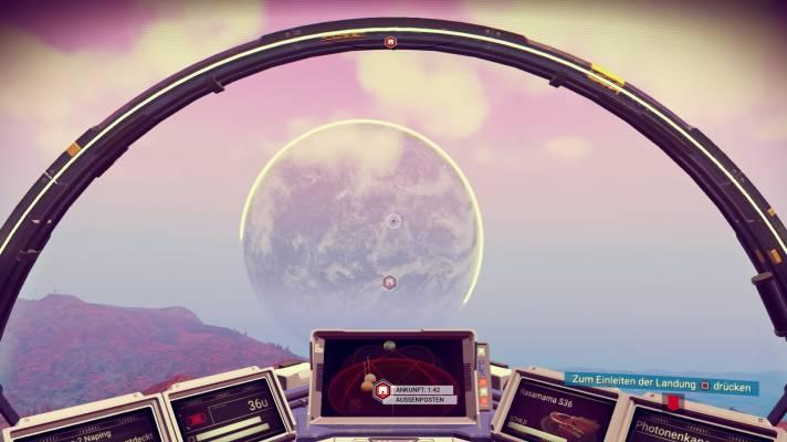 No Man's Sky: Im Farbenrausch der Weltraumformeln