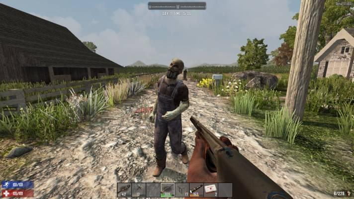 7dtd: Farmer Zombie