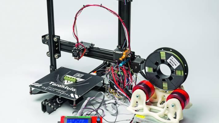 3D-Drucker aus China für weniger als 200 Euro: Tevo Tarantula