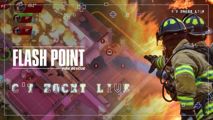 c't zockt LIVE: Flash Point Fire Rescue -- das Computerspiel