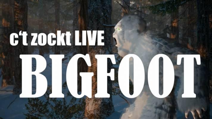 c't zockt LIVE: Bigfoot - Kalte Füße im Wald