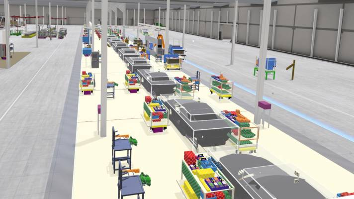 Wie Virtual Reality bei großen Firmen in der Produktionsplanung hilft