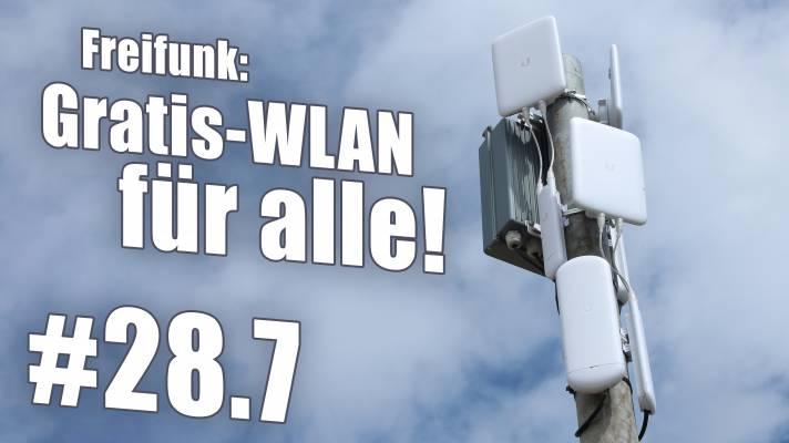 WLAN für alle mit Freifunk  c't uplink 28.7