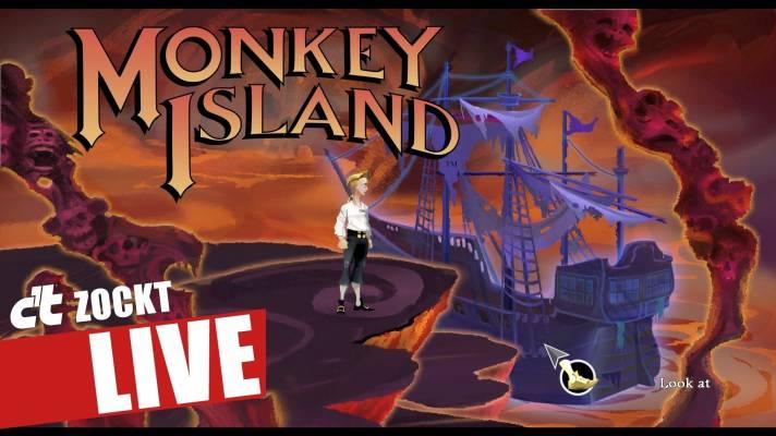 c't zockt RETRO LIVE: Monkey Island 1 (Special Edition)