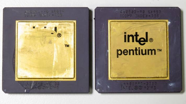 Vor 25 Jahren: Intel Pentium mit FDIV-Bug