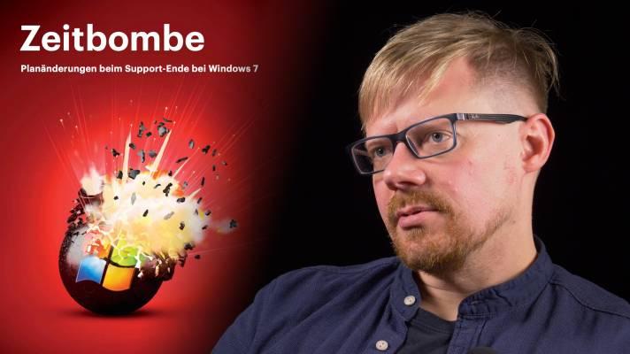 nachgehakt: Planänderungen beim Support-Ende bei Windows 7