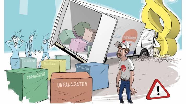 Der Autovermieter Buchbinder lässt Kunden über sein Datenleck im Unklaren