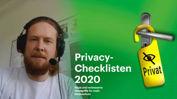 nachgehakt: Privacy-Checklisten 2020