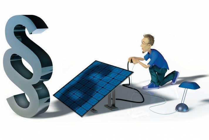 praxiserfahrungen mit einer mini solaranlage c 39 t magazin. Black Bedroom Furniture Sets. Home Design Ideas