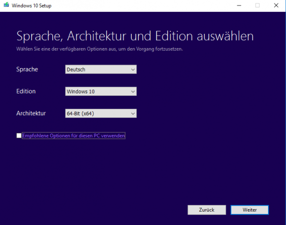 Windows MediaCreationTool