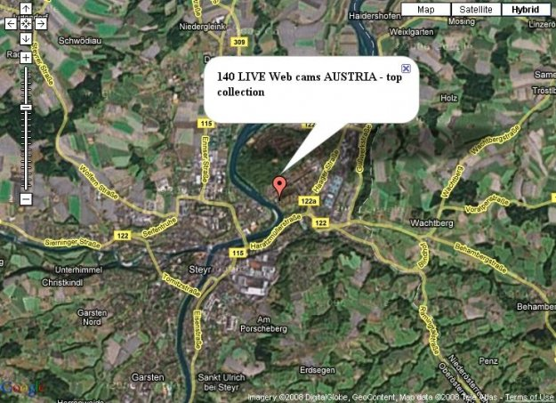 140 live Webcams Austria