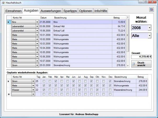 Andreas breitschopp heise download for Klassisches haushaltsbuch