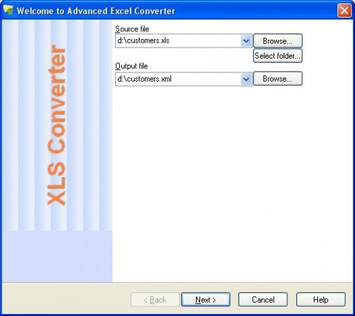 Advanced Excel Converter