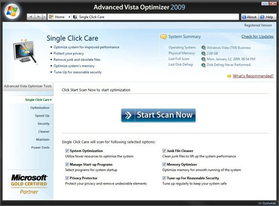 Windows Optimizer 2009 Download