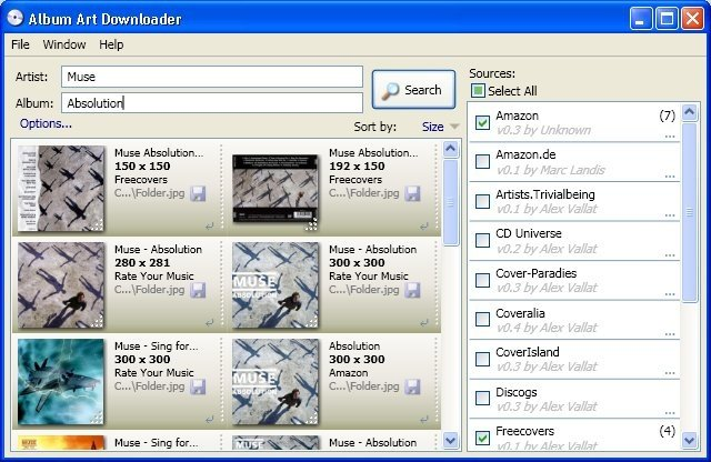 Album Art Downloader XUI