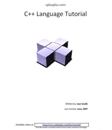 C++ Language Tutorial