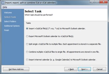Calendar ImportExport for Outlook