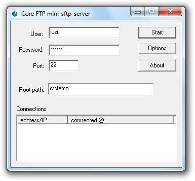 Core FTP Server / SFTP Server