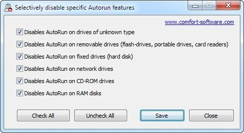 Disable Autorun