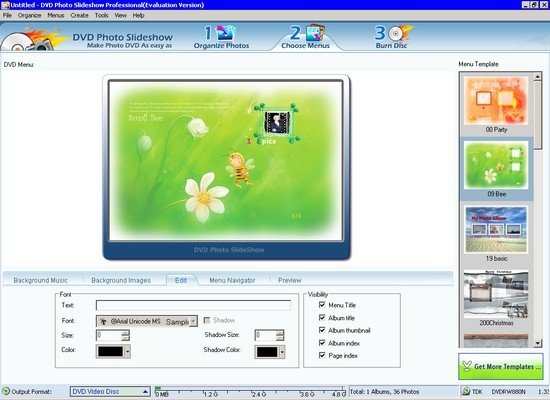 DVD Photo Slideshow Professional