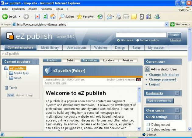 Content Management für Windows - Seite 2 | heise Download