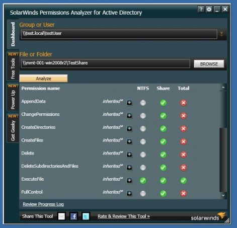 Free Permissions Analyzer
