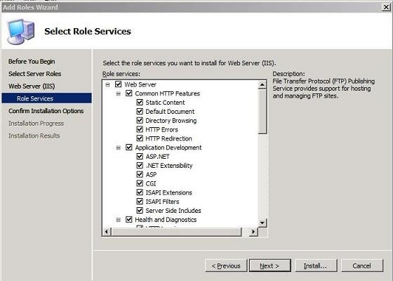 FrontPage 2002 Server Extensions for IIS 7.0