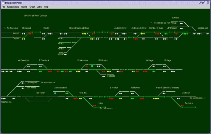 Java Model Railroad Interface (JMRI)
