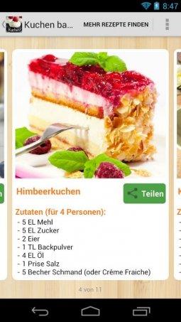 Kuchen backen mit vorhandenen zutaten
