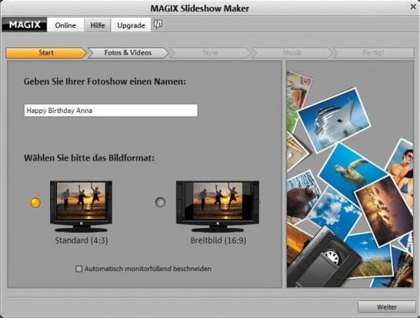 MAGIX Slideshow Maker