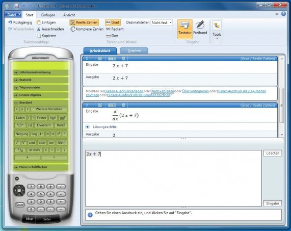Microsoft Mathematics (Math)