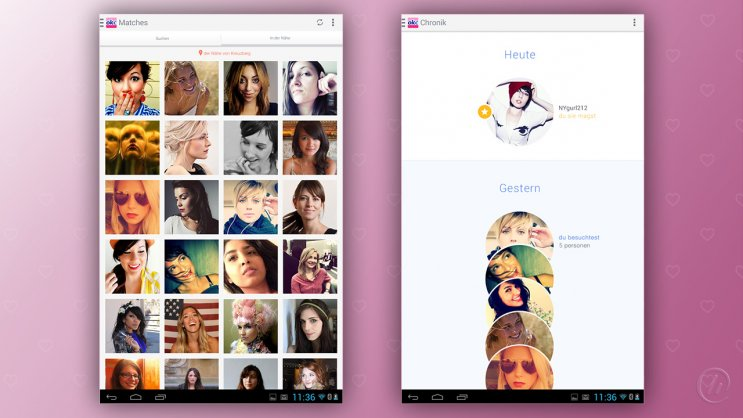OkCupid - App für Android, iPhone, iPad