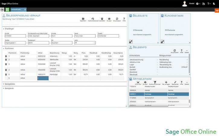 Sage Office Online