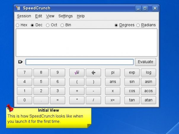 SpeedCrunch