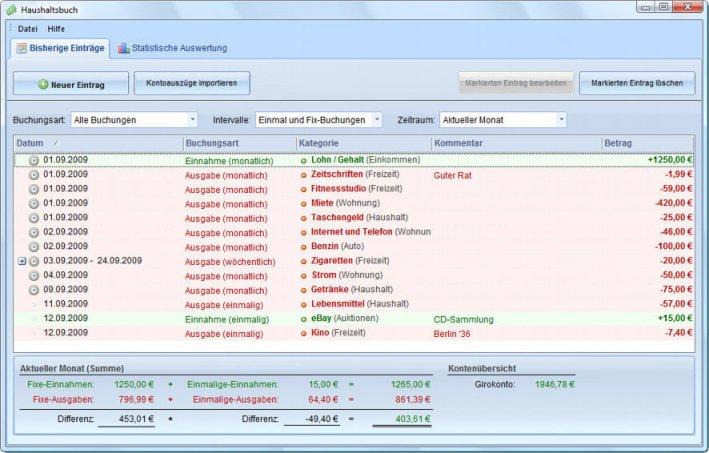 Finanzsoftware Haushaltsbuch Heise Download