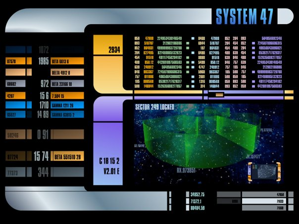 System 47 - Star Trek LCARS Screensaver