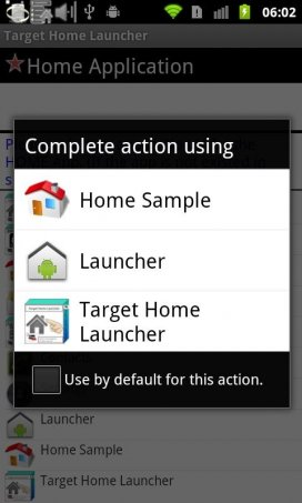 Target Home Launcher