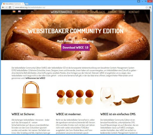 WebsiteBaker Community Edition (WBCE)