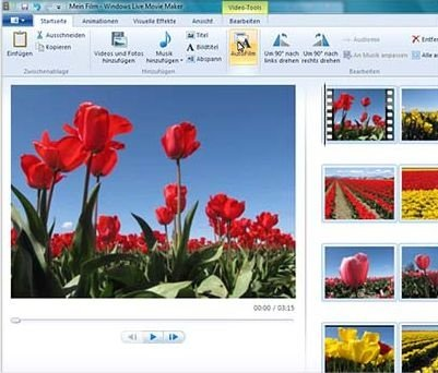 Windows Live Essentials: Movie Maker
