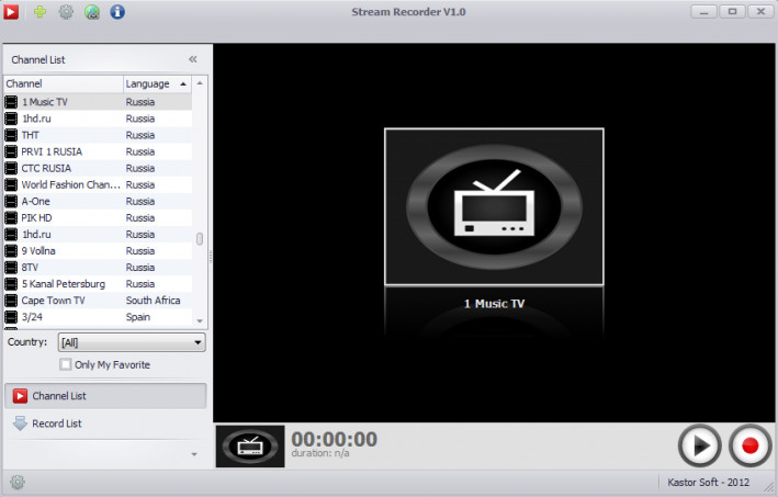 Free Stream Recorder