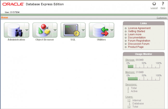 Oracle Database Express Edition (Oracle XE)