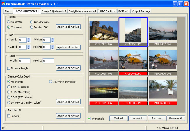 Picture-Desk Pro Batch Converter