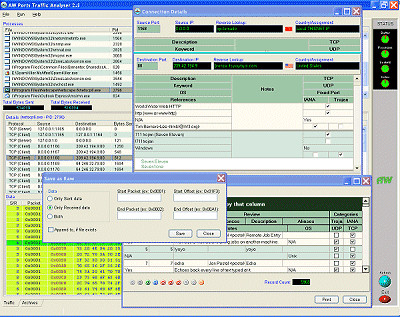 Ports Traffic Analyzer