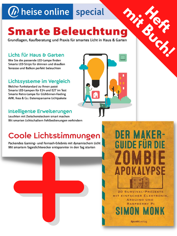 heise online special - Smarte Beleuchtung mit Maker-Guide
