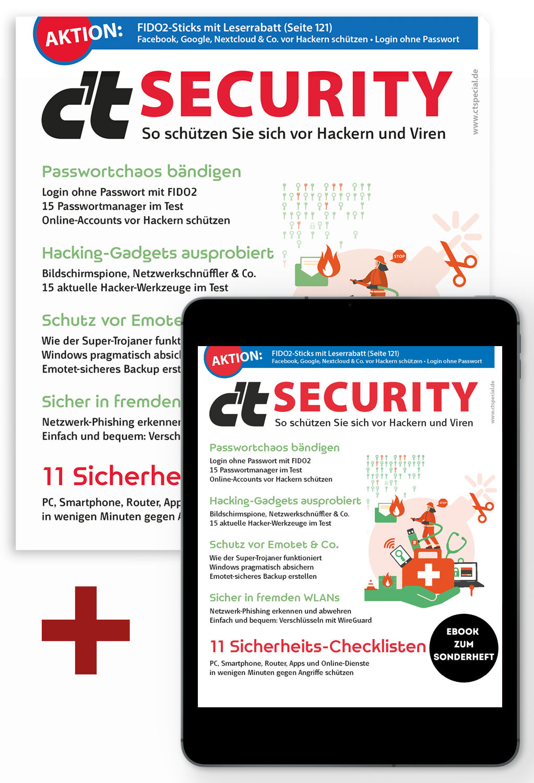 Bundle c't SECURITY 2020 (Heft + PDF)