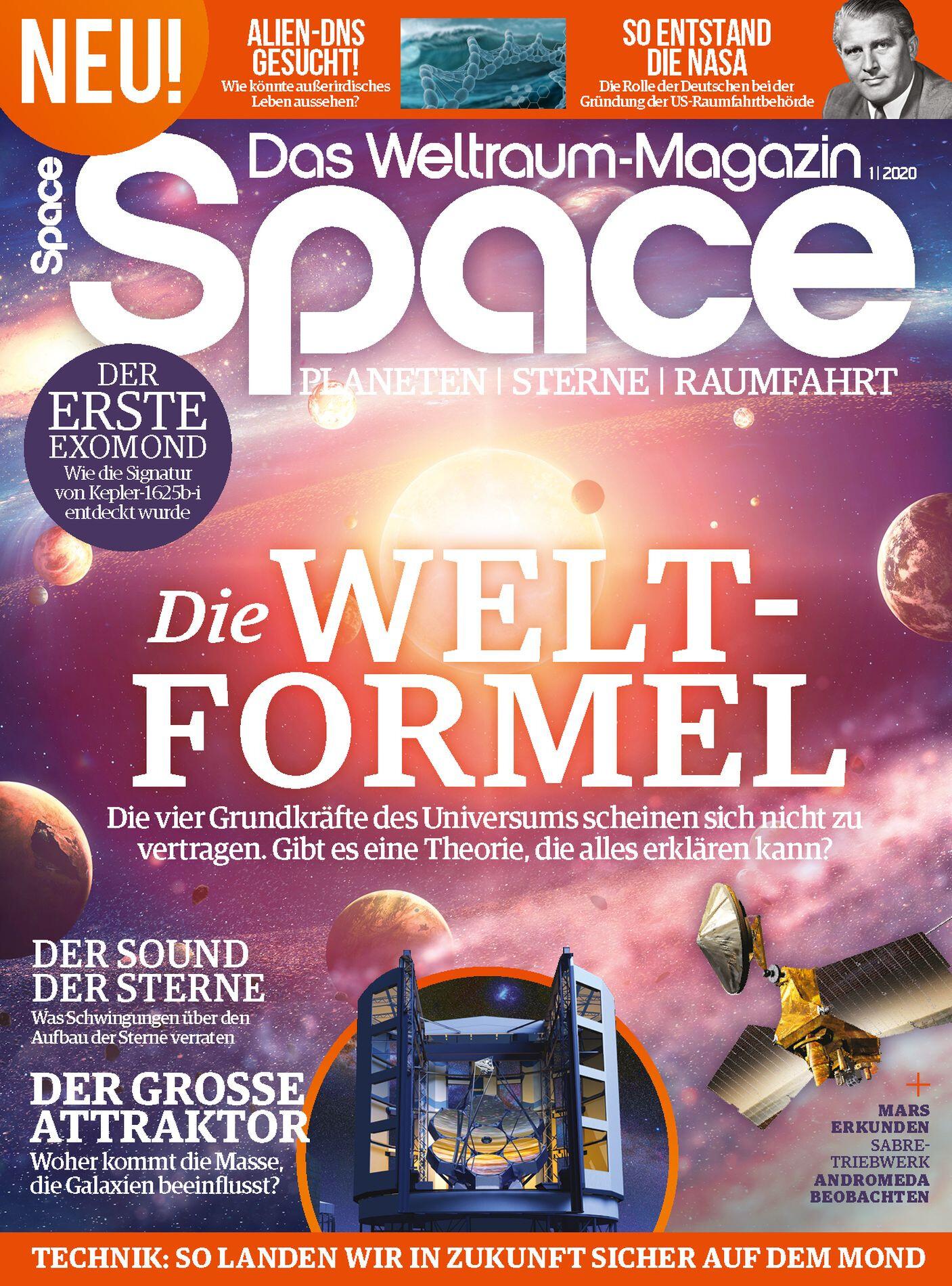 Space Weltraum Magazin 01/2020