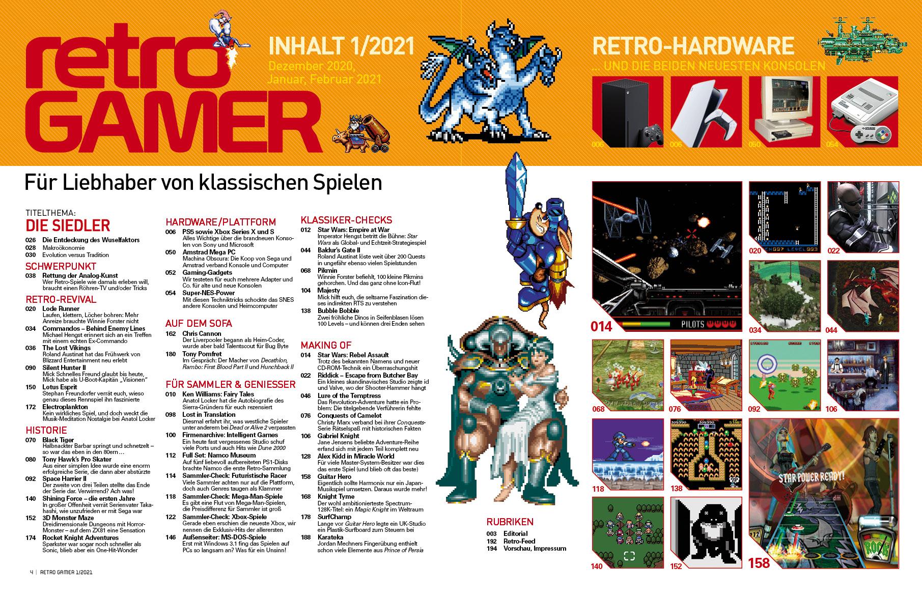 Retro Gamer 01/2021