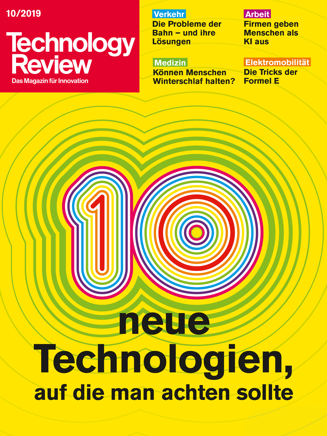 Technology Review 10/2019
